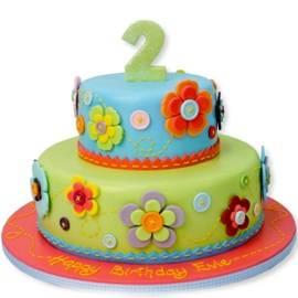 Разноцветный Тортик