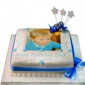 Квадратный Фото торт