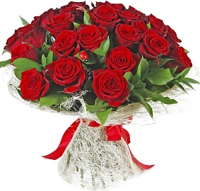 Blooming Beauty with 27 Roses