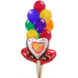 10 Love Balloons!