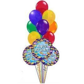 10 Birthday Balloons