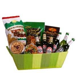 Basket of Beers, Chips & Nuts