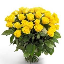 37 Yellow Roses
