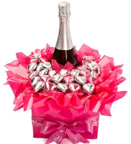 Champaign in Chocolates Bouquet