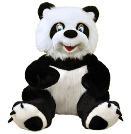 Big Fluffy Panda