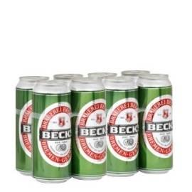 Пиво Backs, 8 x 330мл