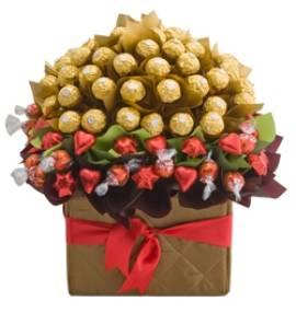 Цветущий Шоколадный Букет