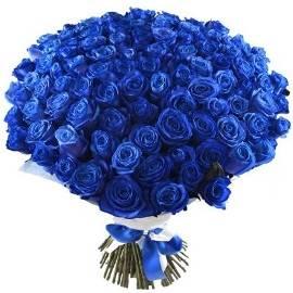 Gorgeous Blue Roses Bouquet