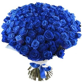 Gorgeous Blue Roses Bouquet