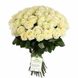 Букет «37 Белые Розы»