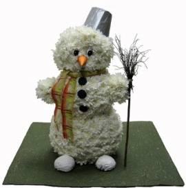 Floral Snowman