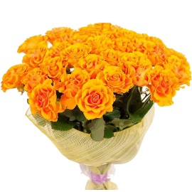 Bouquet of 35 Shining Roses