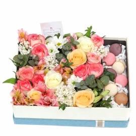 Box with Macarons
