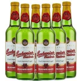 Budweiser Beer, 6  x 500ml bottles