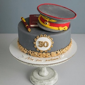 Cake for Policeman