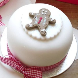 Sweet Christmas Cake