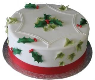 Mistletoe Cake