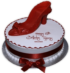 Shoe on the Cake