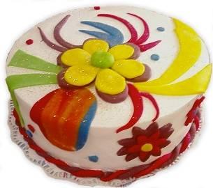 Разноцветный Тортик Радости