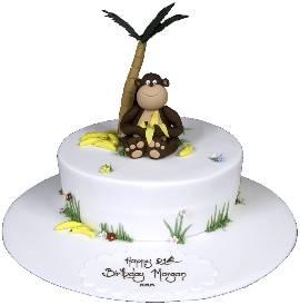 Happy Monkey Cake