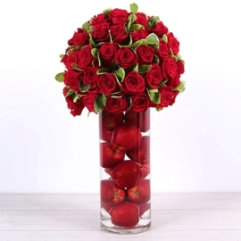 Arrangement In Red
