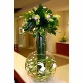 Royal Arrangement with Orchids