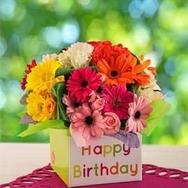 Floral Birthday Box