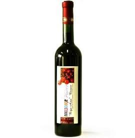 Sweet desert cherry wine