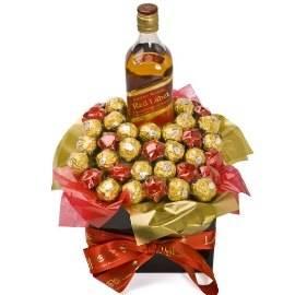 Chocolate & Johny Walker Whisky
