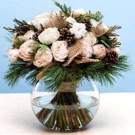 White Winter Bouquet