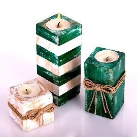 Green Candle Collection