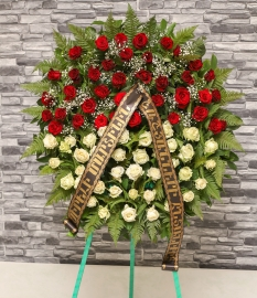 Two Color Wreath