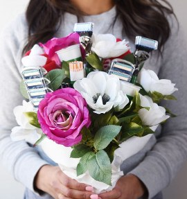 Razor bouquet