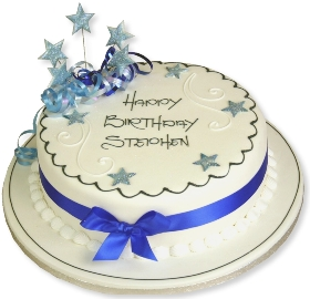 Anniversary Cake for Men