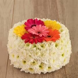 Blooming Birthday Cake