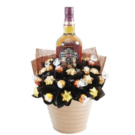 Chocolate & Chivas Regal Whisky