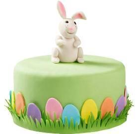 Green Easter Cake