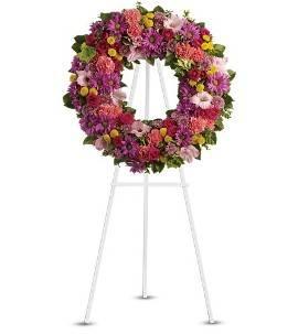 Elegant Sympathy Wreath