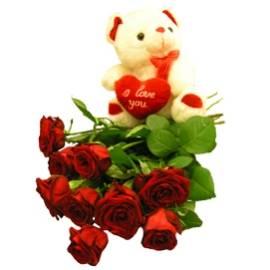 Мишка и Огненные Розы