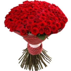 Premium Red Roses Bouquet