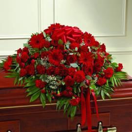 Memorial Basket of 125 Flowers
