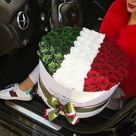 77 Unique Roses Arrangement