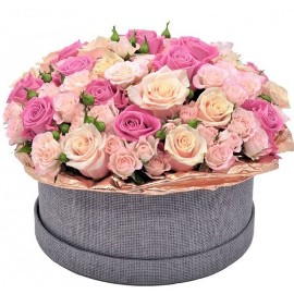 77 Pure Pink Roses