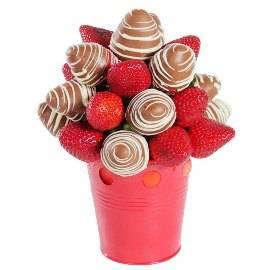 Шоколадно-клубничный Букет