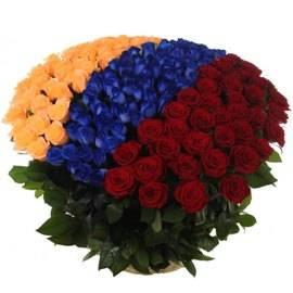 Цветочный флаг Армении