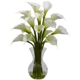 Pretty White Callas