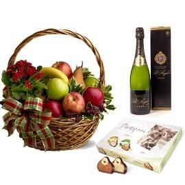 Fruits, Chocolate & Champagne