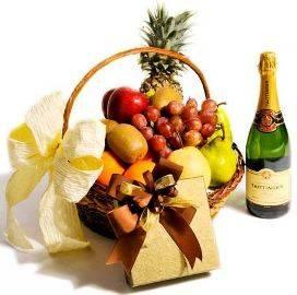 Fruits, Chocolates & Champagne