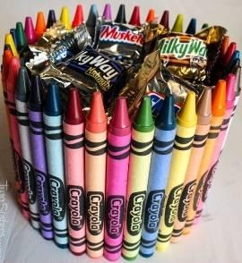 Arrangement of Crayons