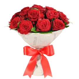 Red Regal Roses Bouquet